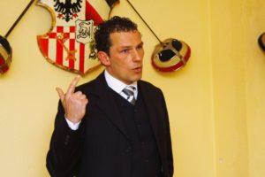 Der Polizist und Abgeordnete Jan Time referierte über Organisierte Kriminalität in Bremen