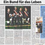 Die Kreiszeitung brachte im Jahr 2003 einen großen und gut recherchierten Hintergrundartikel über den VDSt zu Bremen