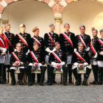 Die Chargierenden des Hamburger und Bremer Stiftungsfests 2014