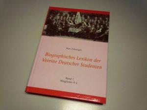 Biographisches Lexikon der Vereine Deutscher Studenten