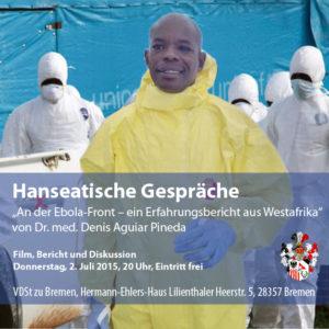 """Dr. Denis Pineda: """"An der Ebola-Front..."""""""