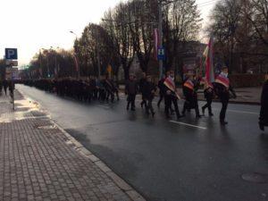 Parade lettischer Studentenverbindungen